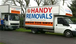Removal Truck or Removal Lorry